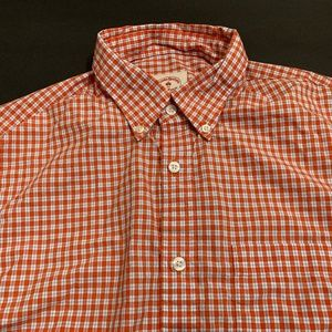 Brooks Brothers Red Fleece Checks Shirt Medium